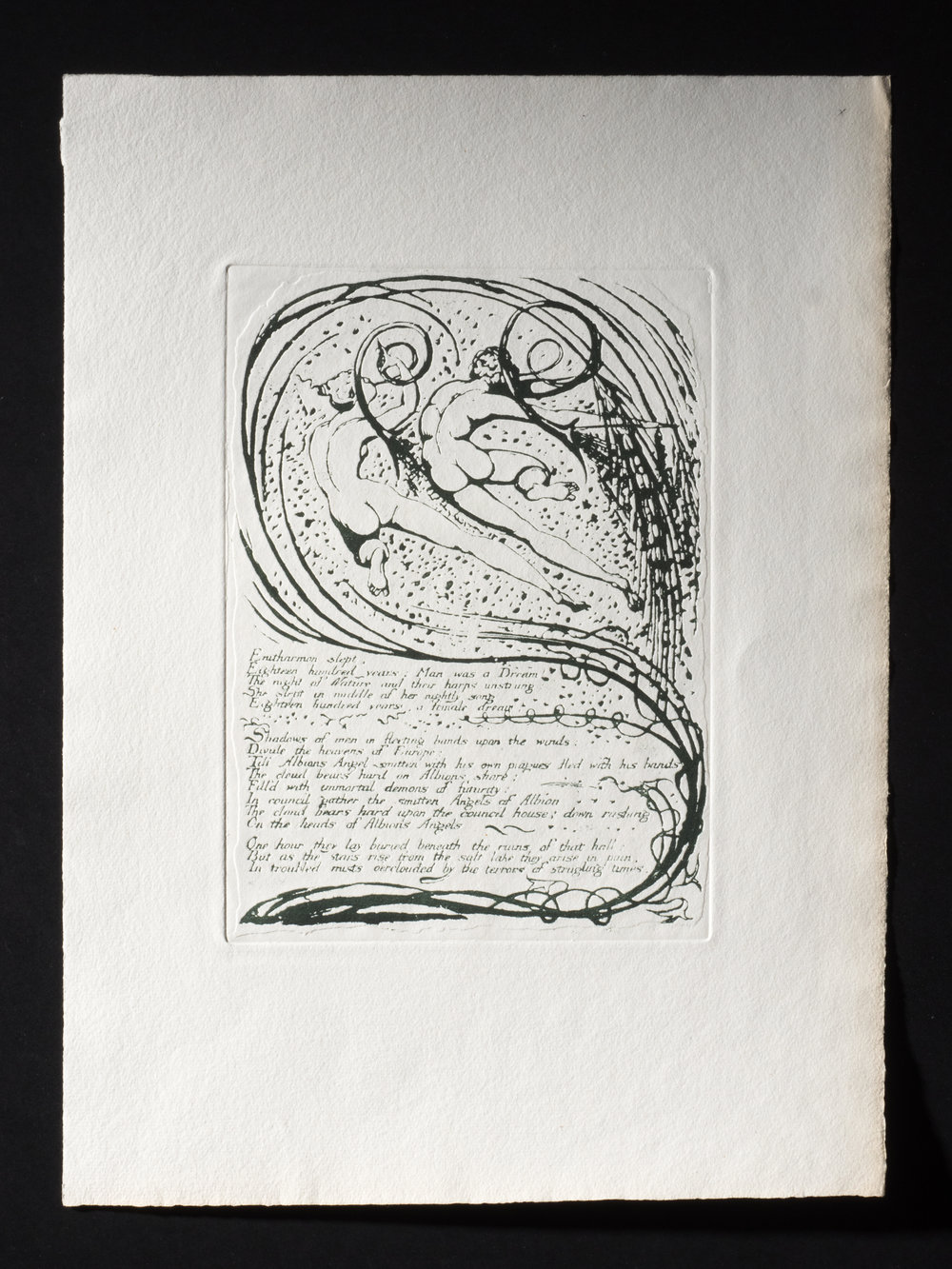 Copy of Plate 10, Europe, 'Enitharmon sleot' full page