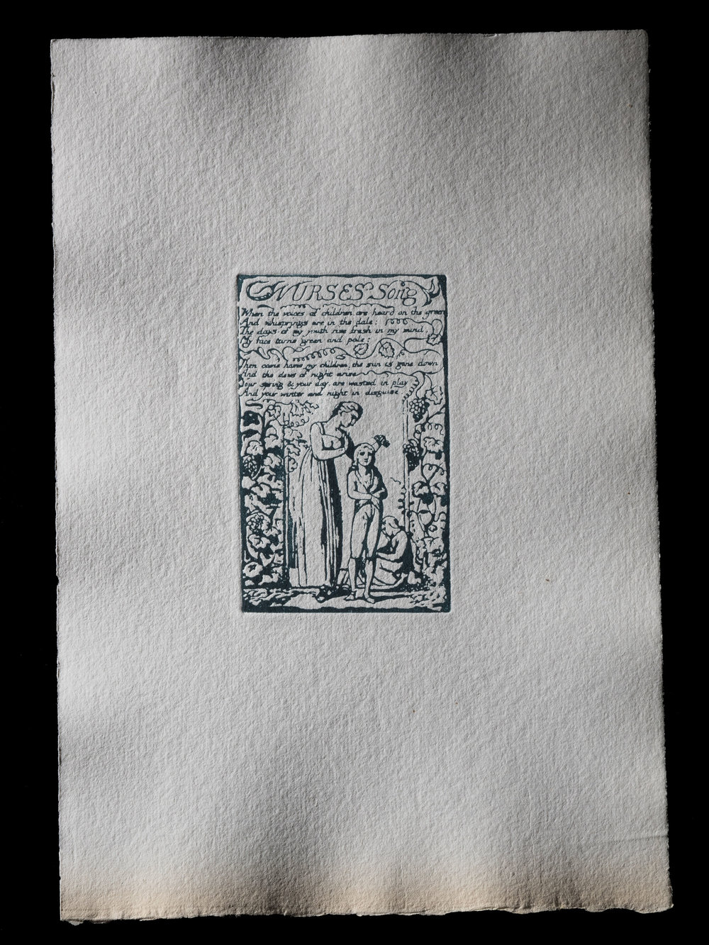 Nurses Song, 114 x 70 mm