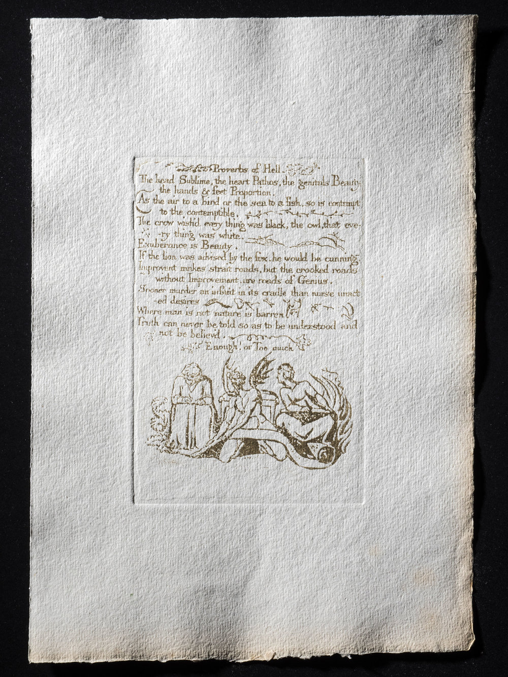 10. Proverbs of Hell, 156 x 104 mm