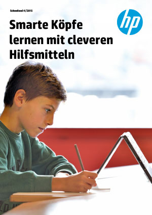 Oberstufenzentrum Worbboden HP x360 Convertible PCs– ideal für konventionelle Lernprogramme und Lern-Apps → Download PDF Schooltool 4/2015