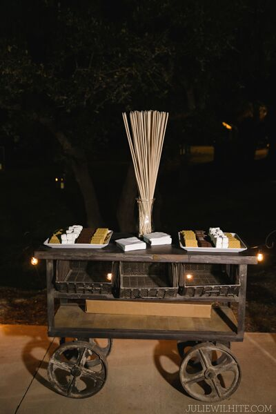 S'mores Station by Valerie Miller Events