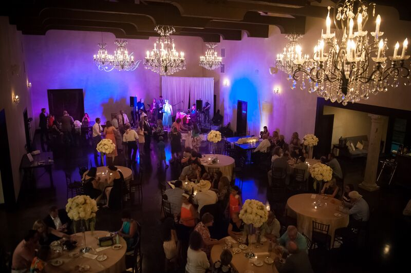 Band/Music by Royal Dukes; Catering by Word of Mouth;Rentals by Premiere Events