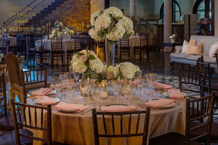 Yellow Umbrella Events | Ma Maison Elegant Wedding Venue Blog
