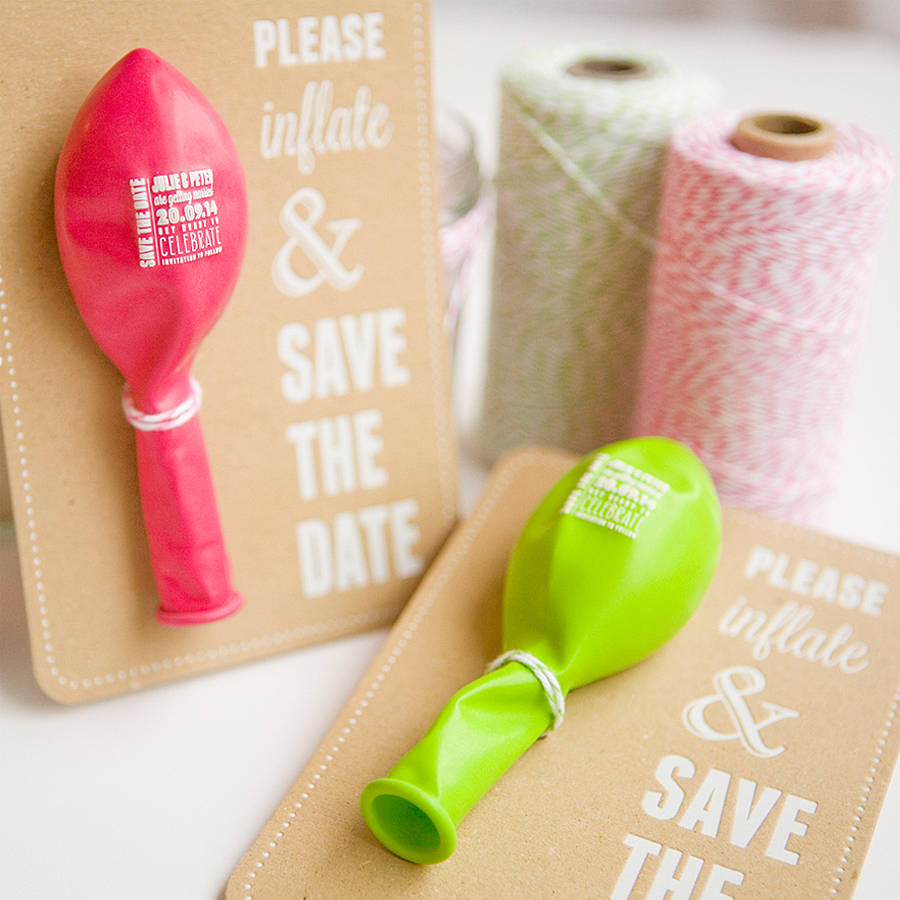 10 Creative Save the Date Ideas | Ma Maison Blog