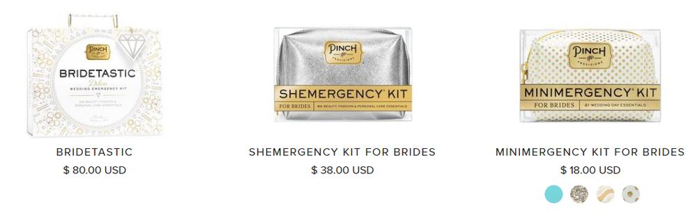 Pinch Provisions Wedding Kits