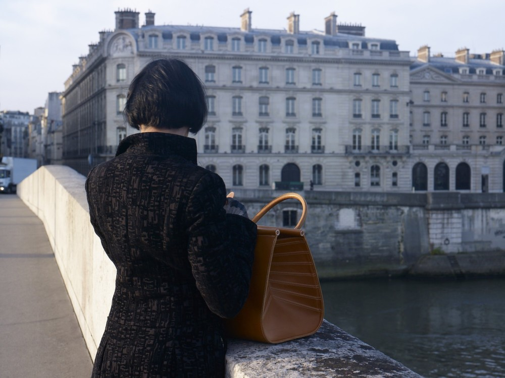 The Peau de Chagrin bag, looking towards le quai Voltaire, Paris