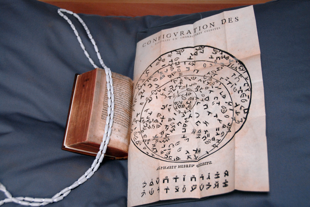 """""""Configuration des Etoiles En Characteres Celestes"""", Middle Temple Library copy"""