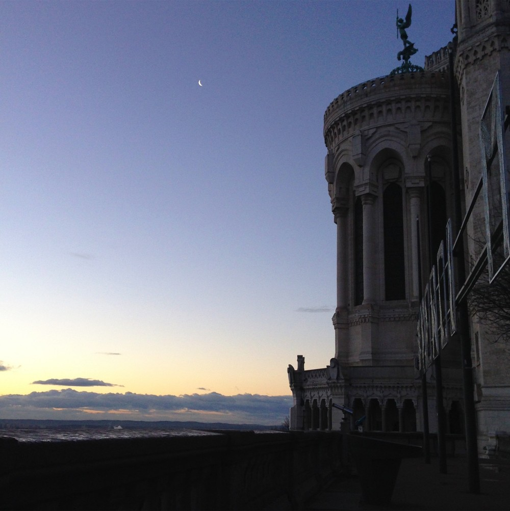 Basilique de Fourvière at dawn