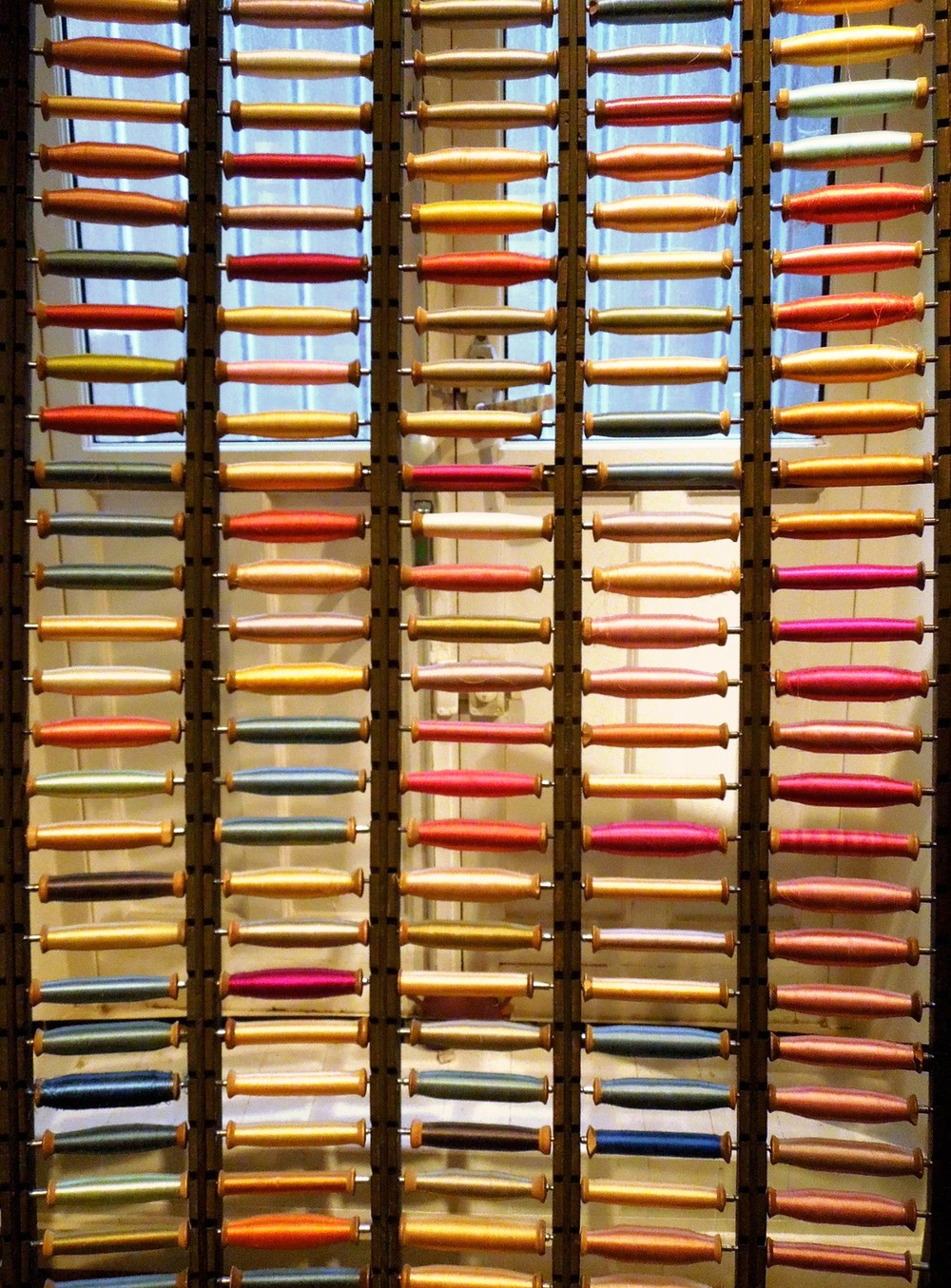 Museum La Maison des Canuts in la Croix Rousse – Silk bobines
