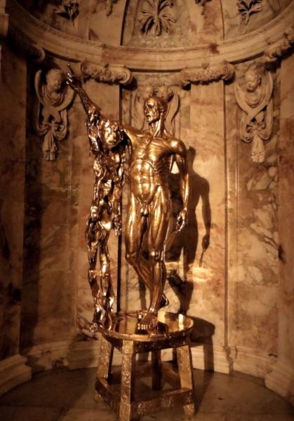 Damien Hirst, Saint Bartholomew Exquisite Pain. 2006. Image ℅ Allan Griffiths