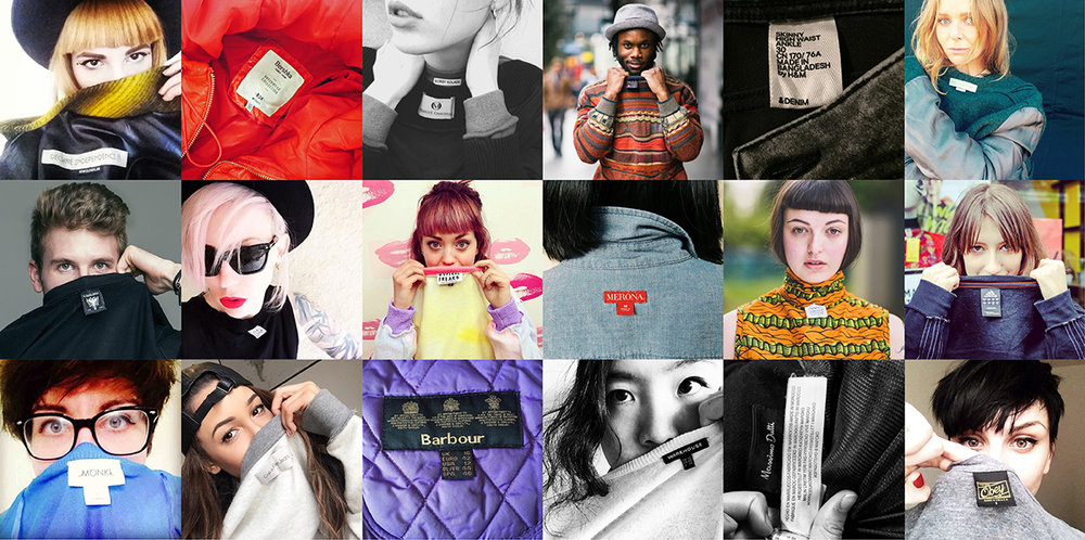 Instagram users ask #whomademyclothes? c/o Fashion Revolution