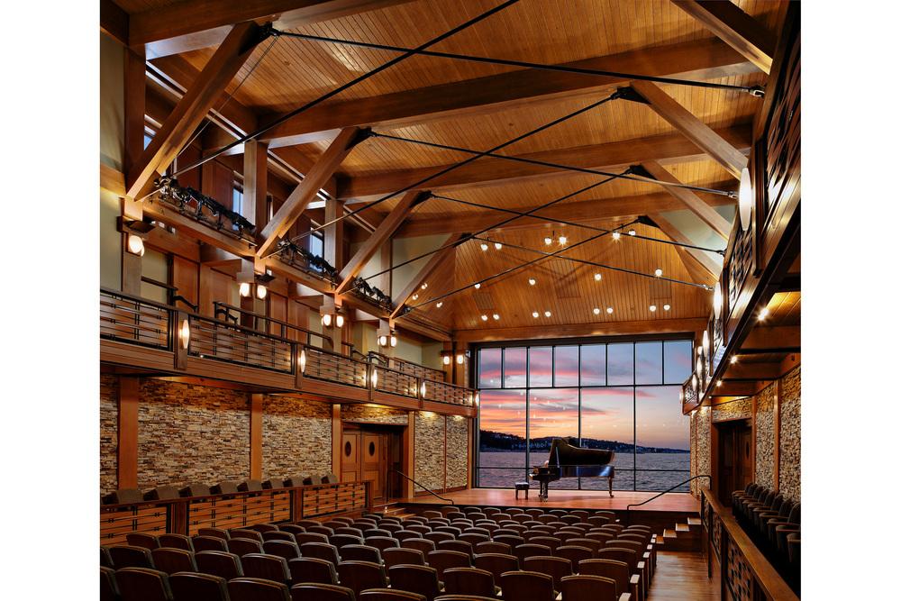 Robert Benson Photography. Epstein Joslin, Shalin Liu. Theater. Performing Arts. Professional, award-winning, architectural photographer.