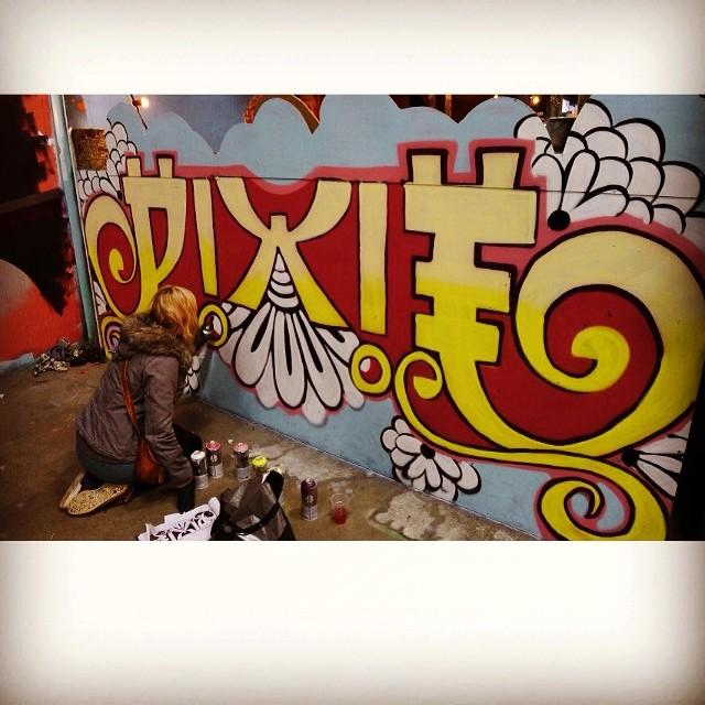 #misspix01 #paintandbeer #amsterdam #girlsontopcrew
