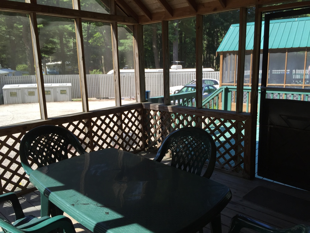 screened in porch on stewart lodge