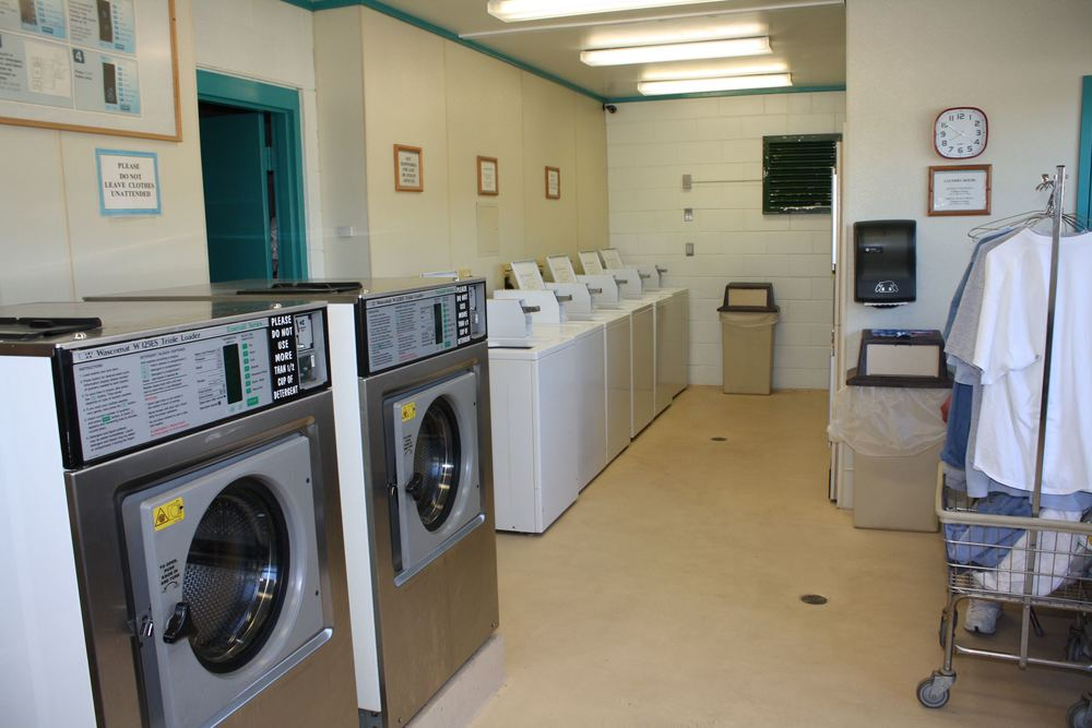 field laundry room