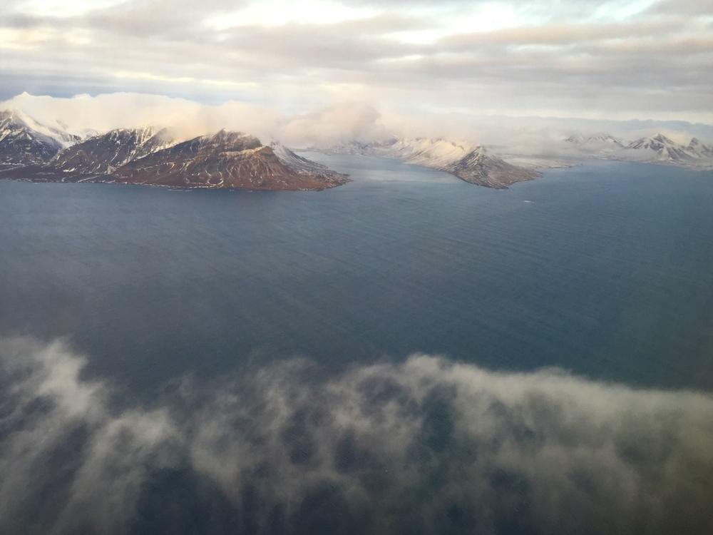 Approaching Svalbard