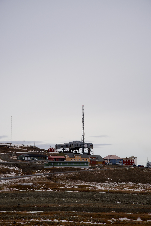 "Longyearbyen's ""Spider Building"""