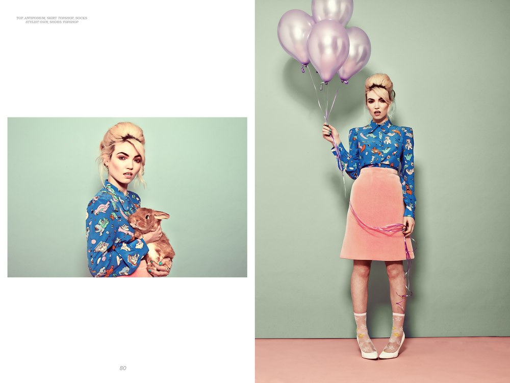 Loving the pastel shade in these shot oh!! and the bunny <3