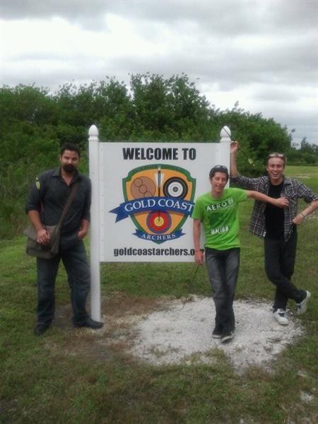 Gold Coast Archers Entrance