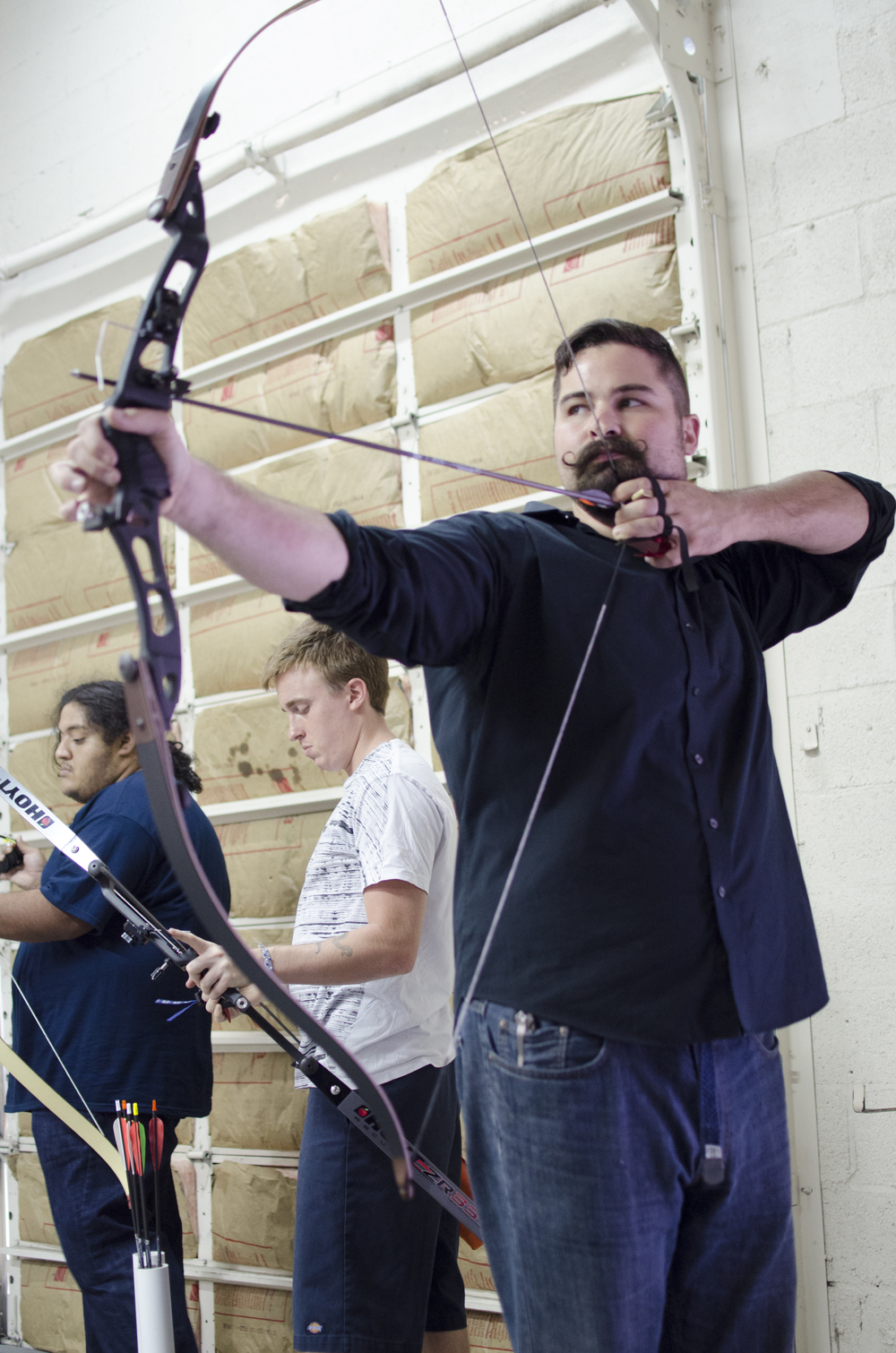 President Will Landis - Majestic Archery Pose