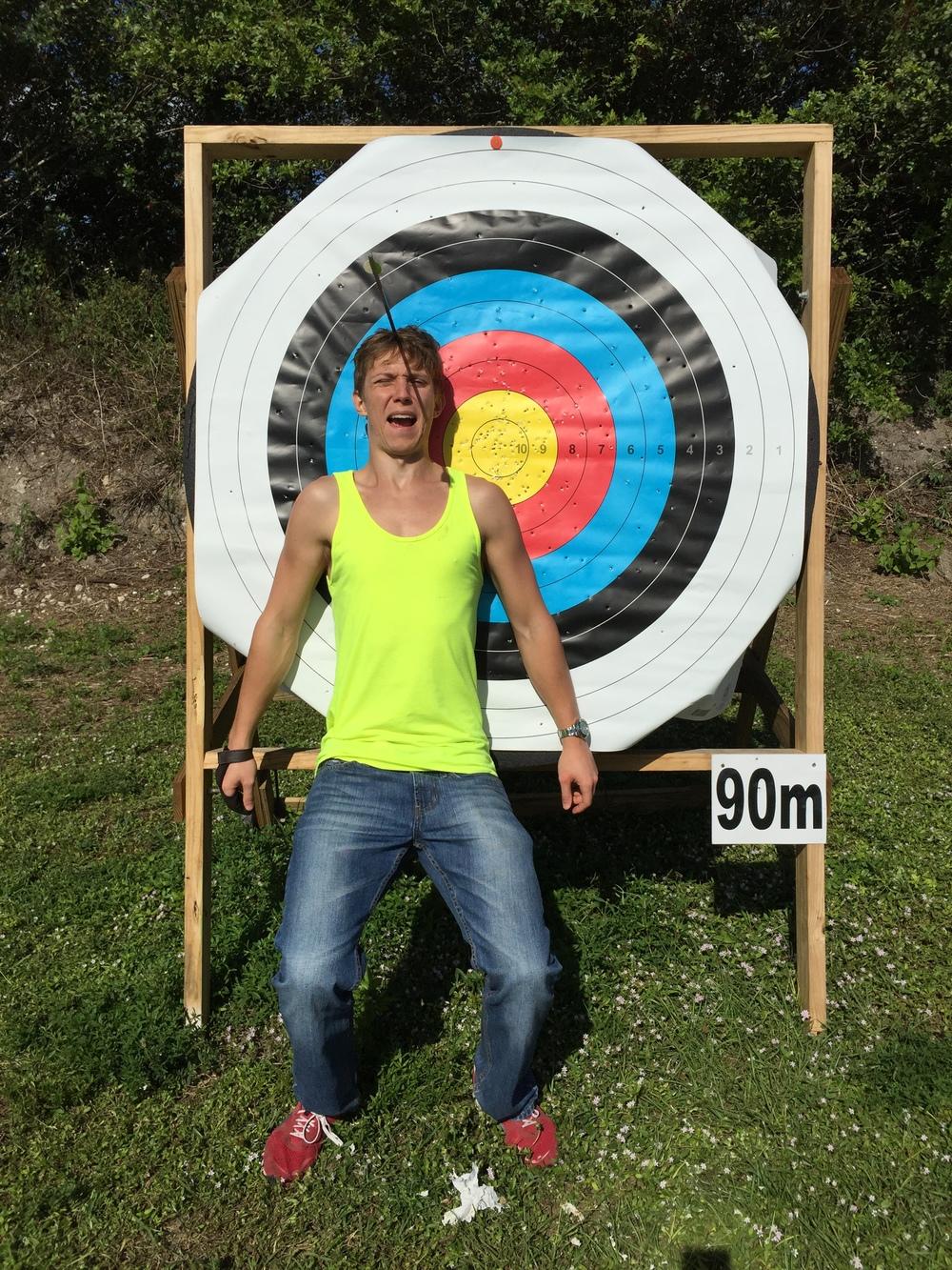 90m Barebow Shot