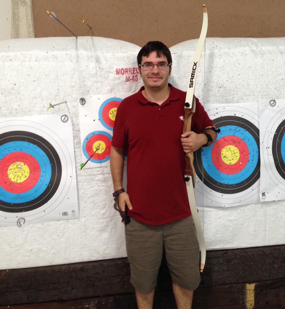 Donovan Bertch's First Bullseye