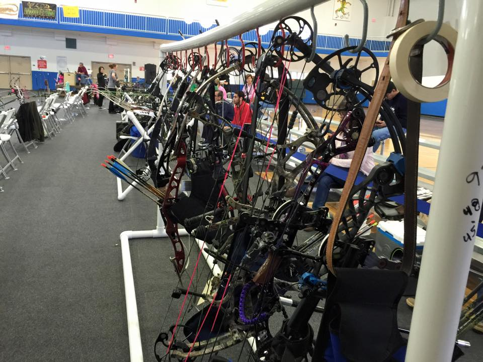 Compound Bow Hangar for NFAA State Indoor 2015