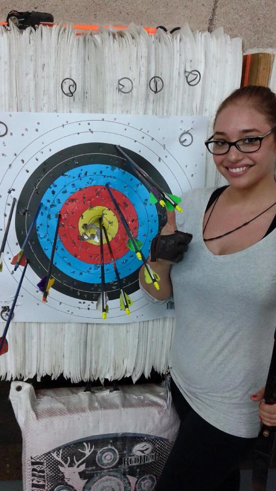 Doren with Bullseye!