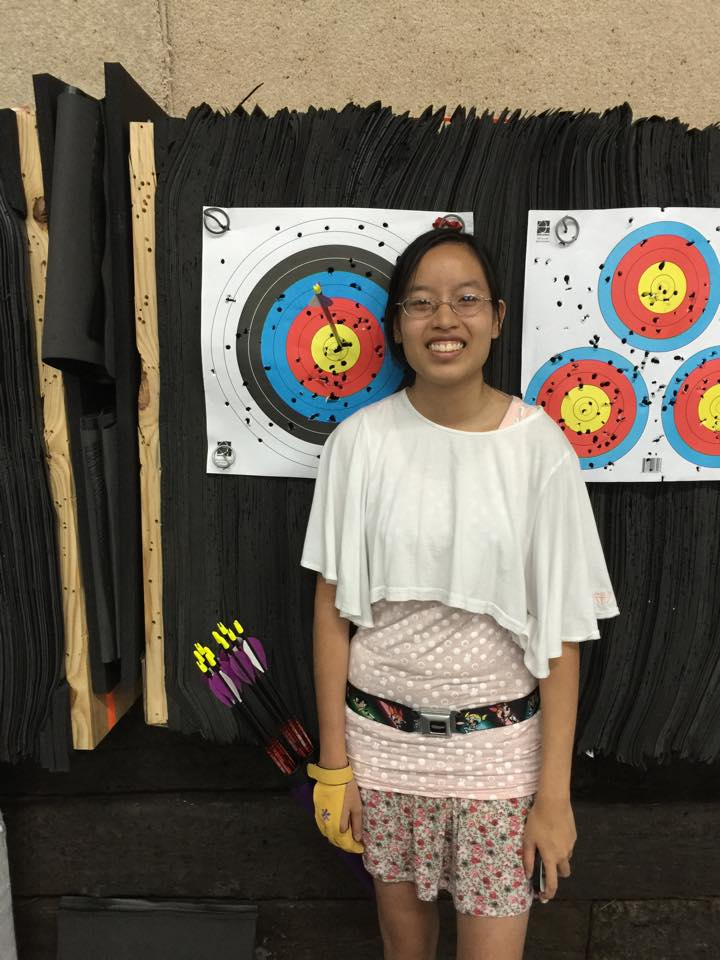 Vivian with Another Bullseye!