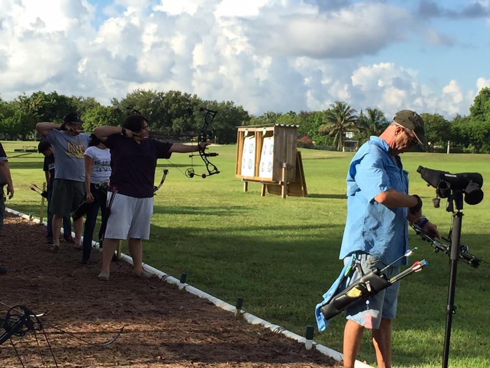 James Chandler Practicing at Miami 900 Shoot