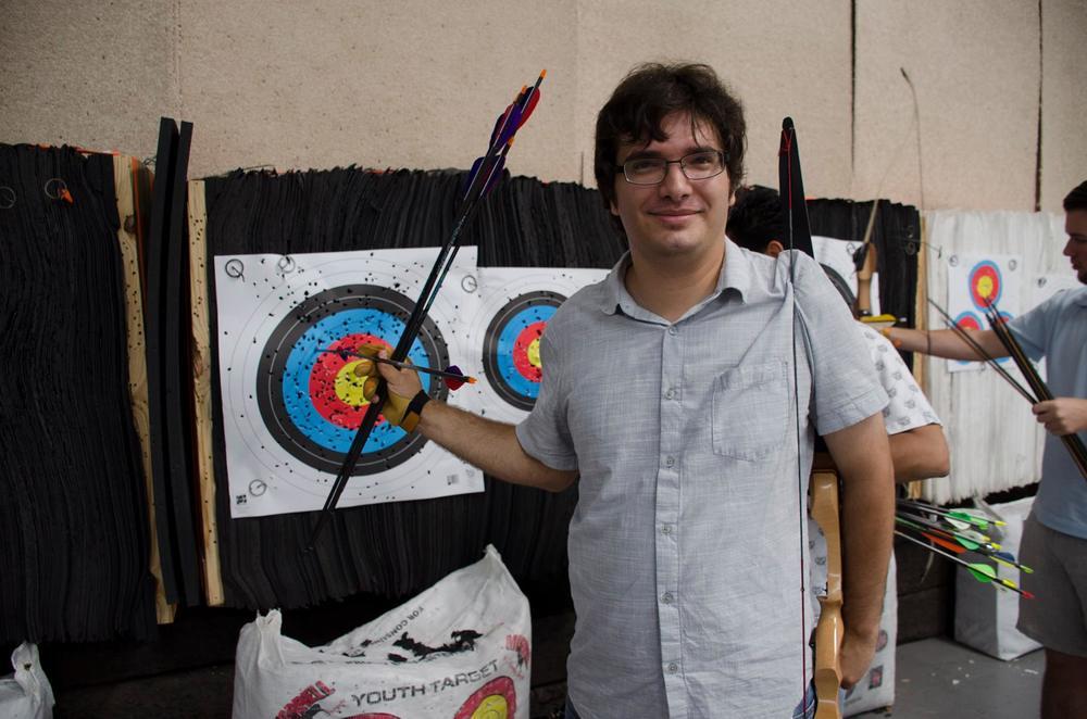 Donovan with a Robin Hood
