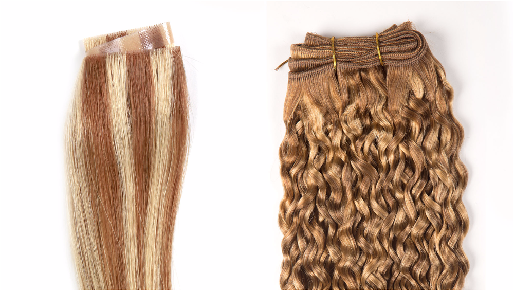 Comparison of Hand Tied Skin Weft and Machine-Tied Weft