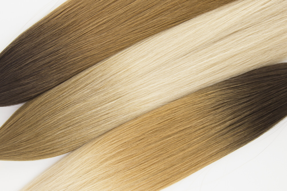 New Rooted Colors - Top to Bottom : T2/30, T6/BL22, T2/BL22Our color blends range from specialty ombré affects to iconic, classic favorites to modern-day pops-of-color.Designed to blend seamlessly, there's a shade for everyone from the demure to the dramatic. Understated in a variety of specialty blends and colors, each Seamless Weft™ can also be custom colored to fit your dream hair goals.
