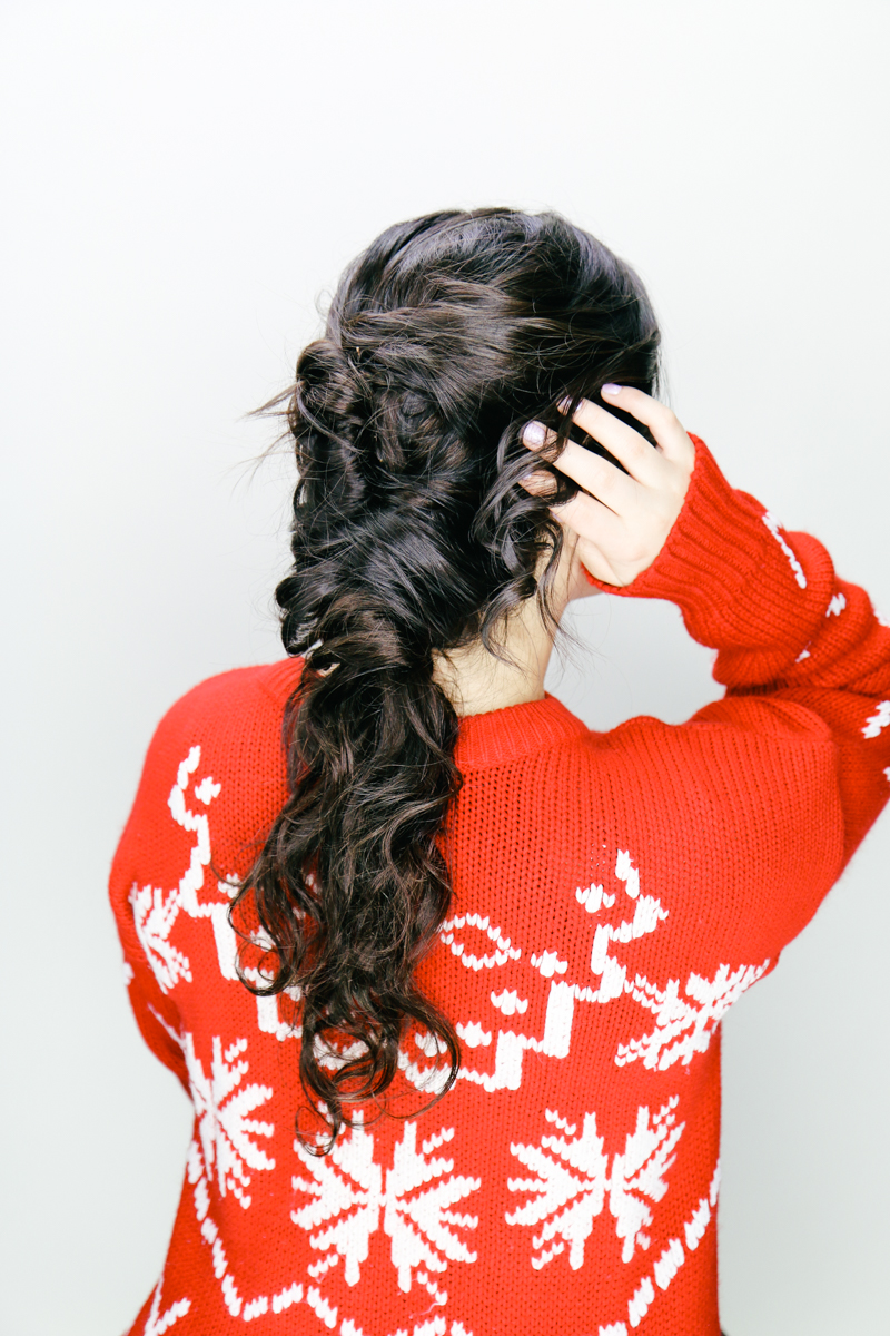 2 Easy Holiday Hairstyles You Can Diy Bohyme