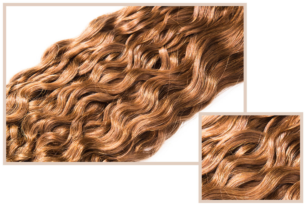 FRENCH BODY - Available in Classic CollectionA soft texture with more depth in the waves. This hair gives a natural feel and look. Soft and loose at the top, yet voluminous and wavy at the bottom.