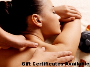 Melt a loved ones stress away, gift certificates available!