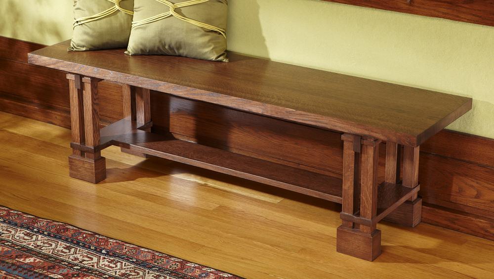 Prairie Style Bench