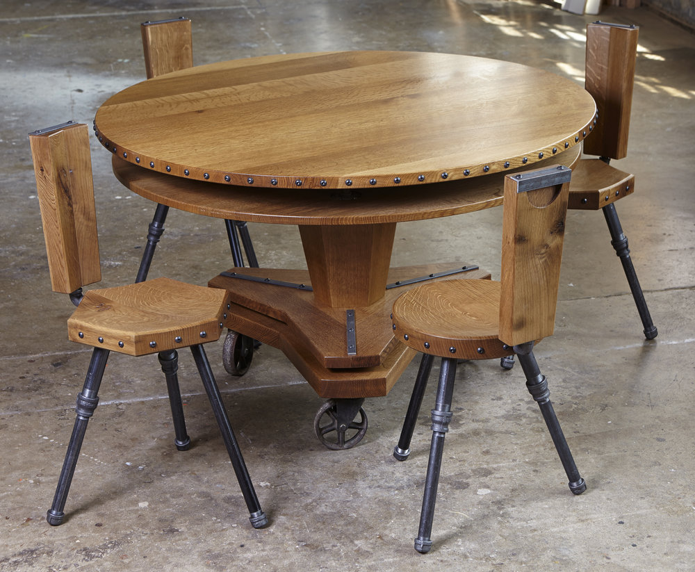 Round Industrial Table and Chairs.jpg