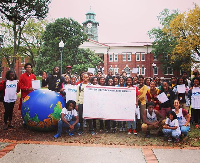 #tbt to Oct 2015 / #knowtomorrow @tuskegeeuniversity #changeclimatechange #climatehope #ecoactivism