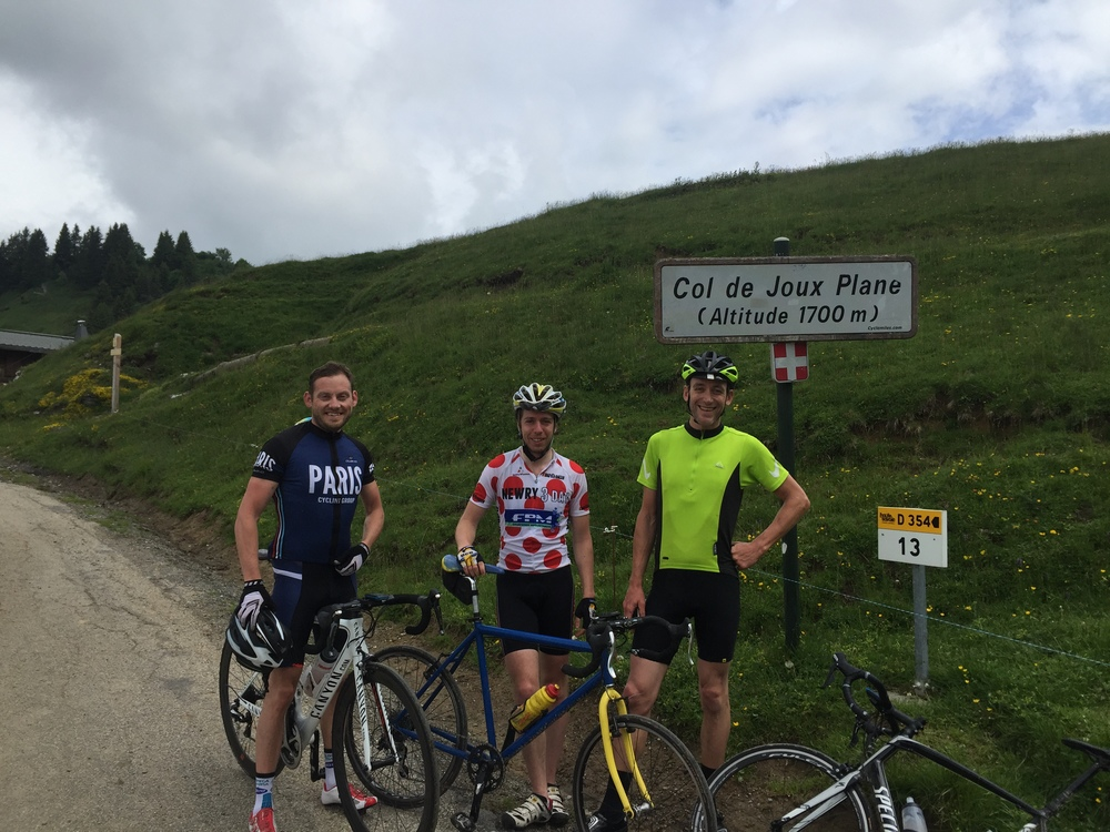 The Col du Joux Plane is fun but certainly a challenge