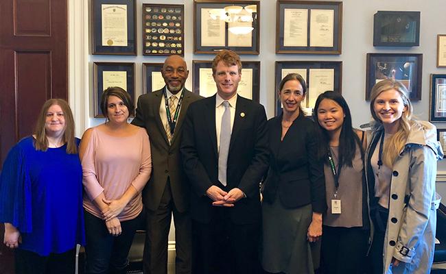 ARC team with Congressman Kennedy
