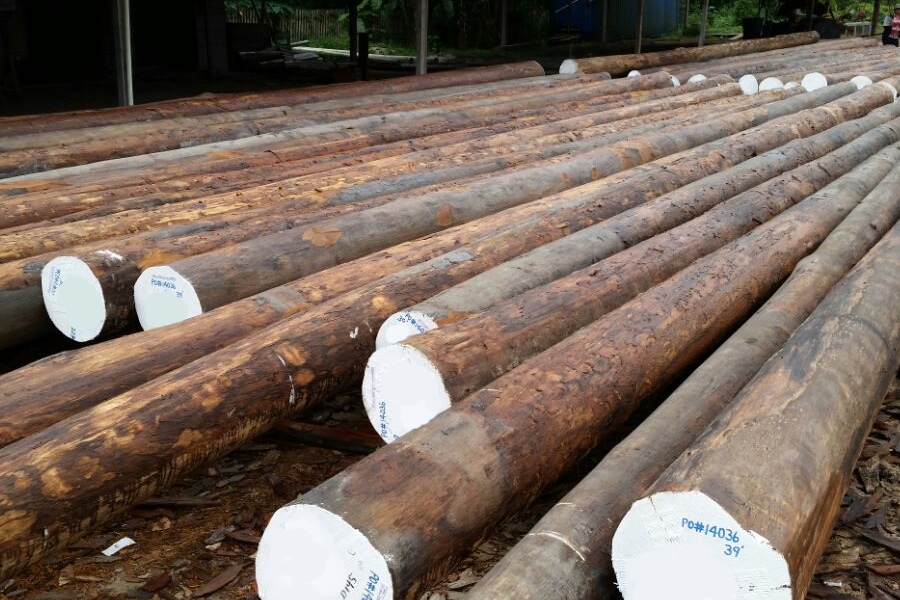 Wood Piling Construction : Products — marine construction supply