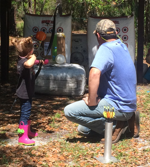 Archery Information & Lessons                                                Andrew Pisarkiewicz                                           Email: archery@mytbsc.com                                                 Tel: (813) 363-2525                         Tampa Archery School at Tampa Bay Sporting Clays                                              Contact: Bryce Smith                                                 Tel: 813-856-9668                                       Email: tampaarchery@gmail.com   Click here to visit their website