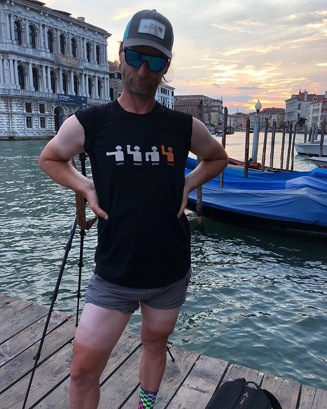Yes! @galen1973 keeping it real in Italy!