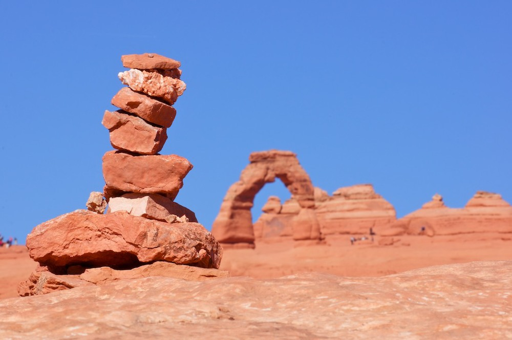 Cairn in Moab, 2012