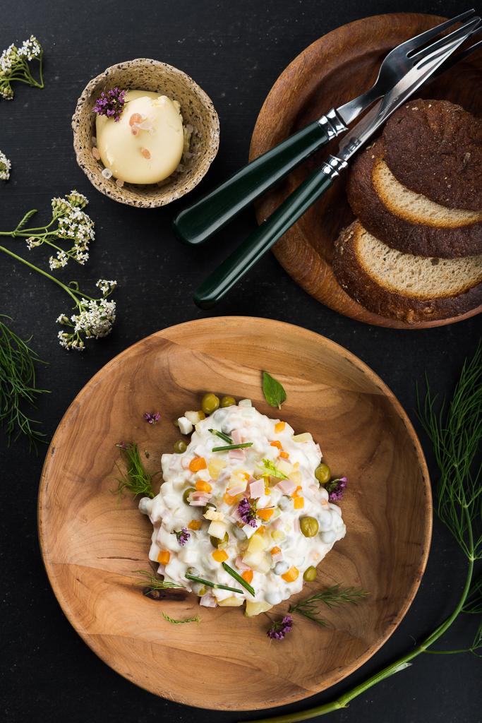 Kartulisalat. Potato salad