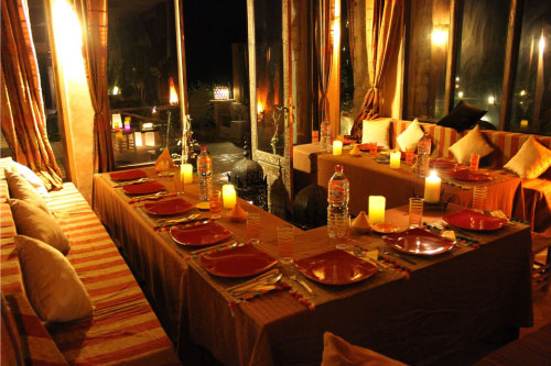 kendra-pilates-morocco-dinner