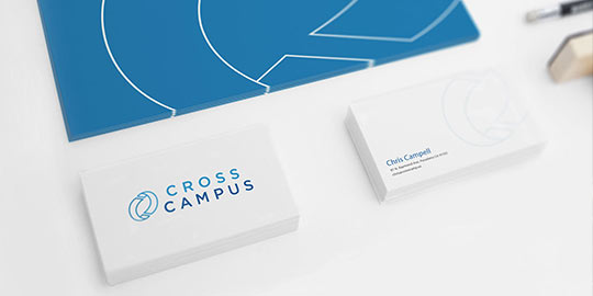 Cross Campus Branding a Workspace Leader Brand Identity