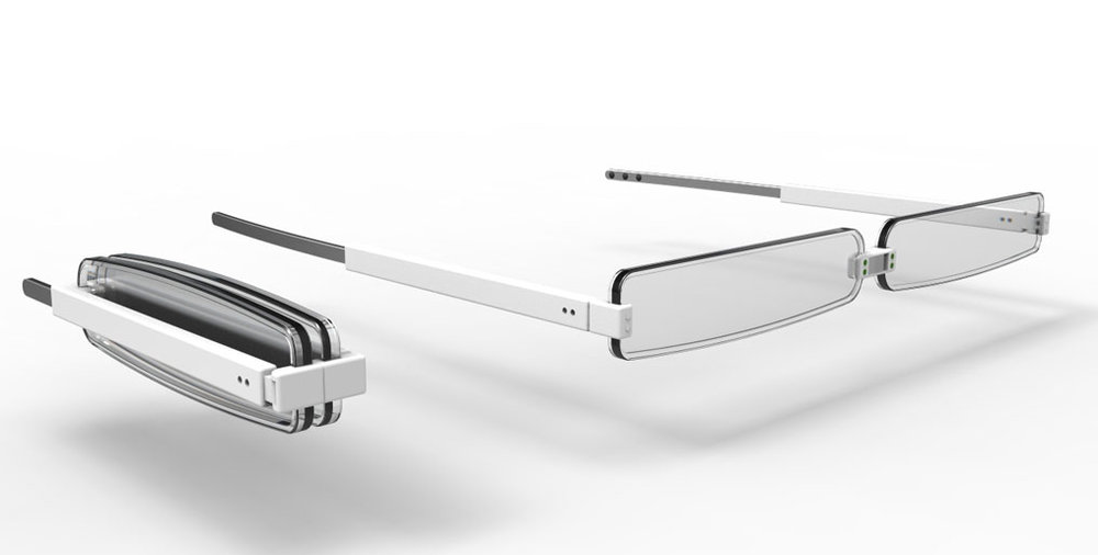 Optigami Fold-up Reading Glasses for All Product Design