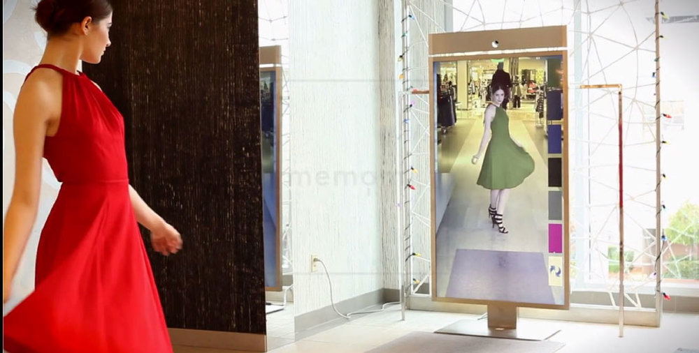 Corning Mirror Innovative Retail Experience Innovation